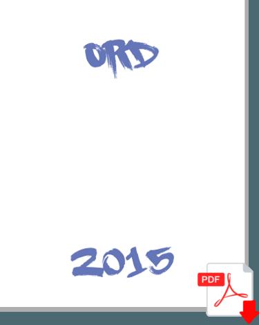 Ord - Solhjulets verksamhetsberättelse för 2015