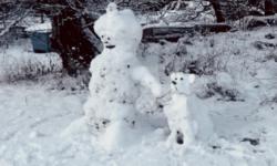 Vinnare snögubbetävlingen 2020/2021